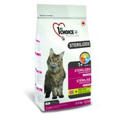 1st Choice Sterilized Сухой корм для кастрированных котов и стерилизованных кошек (с курицей и бататом)